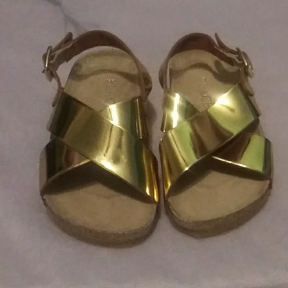 Children's Place Other - ToddlerGold sandals
